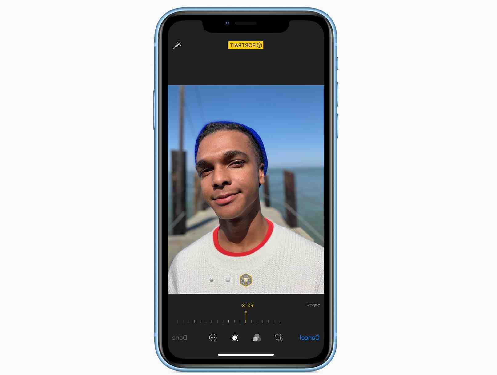 L'Iphone xr peut se charger sans fil