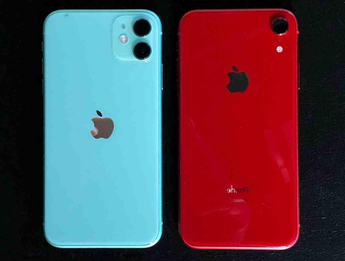Les iphone xr et 11 ont-ils la même taille ?