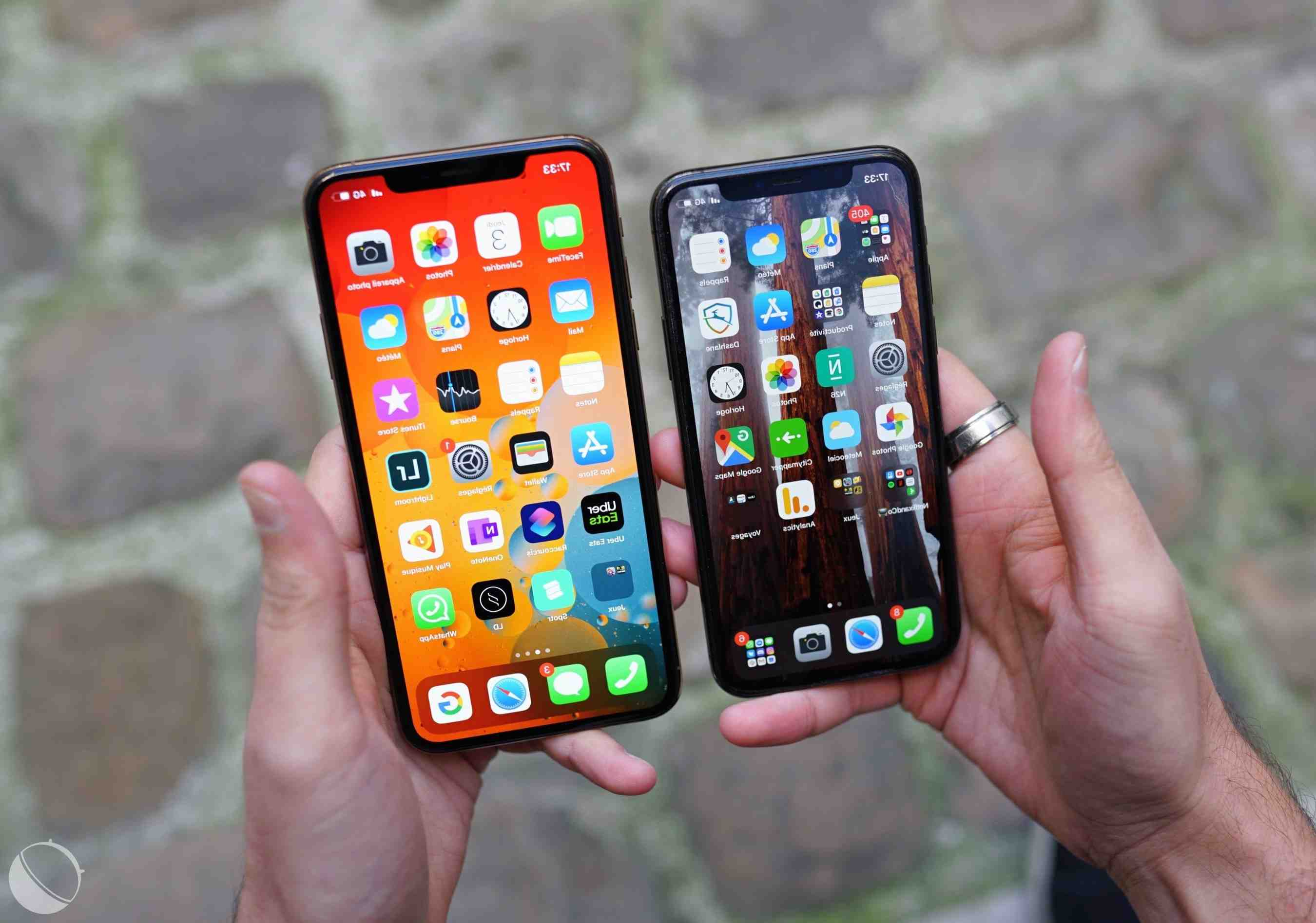 L'iphone 11 pro max peut-il aller sous l'eau