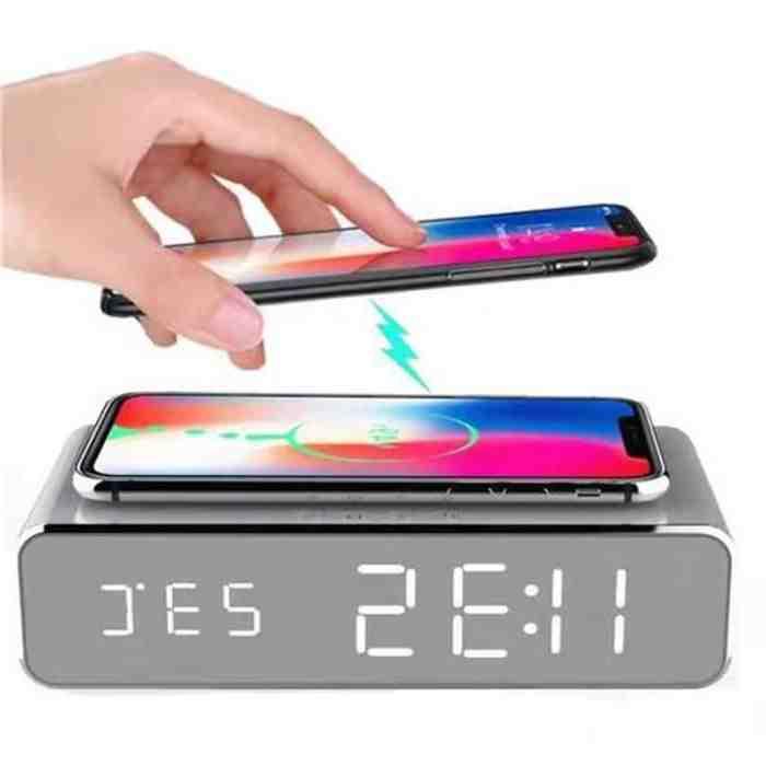 L'iphone 11 pro max se recharge sans fil