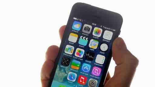Modèle d'Iphone 5