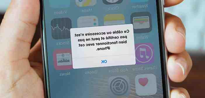 Mon iphone 5 ne se charge pas