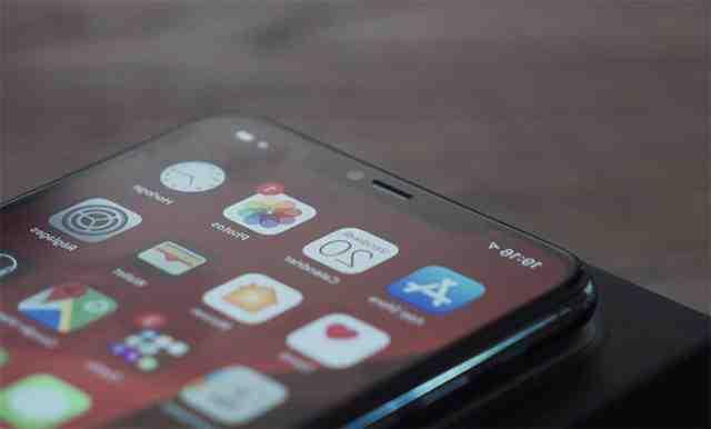 Nouvel écran de l'Iphone 11 pro max
