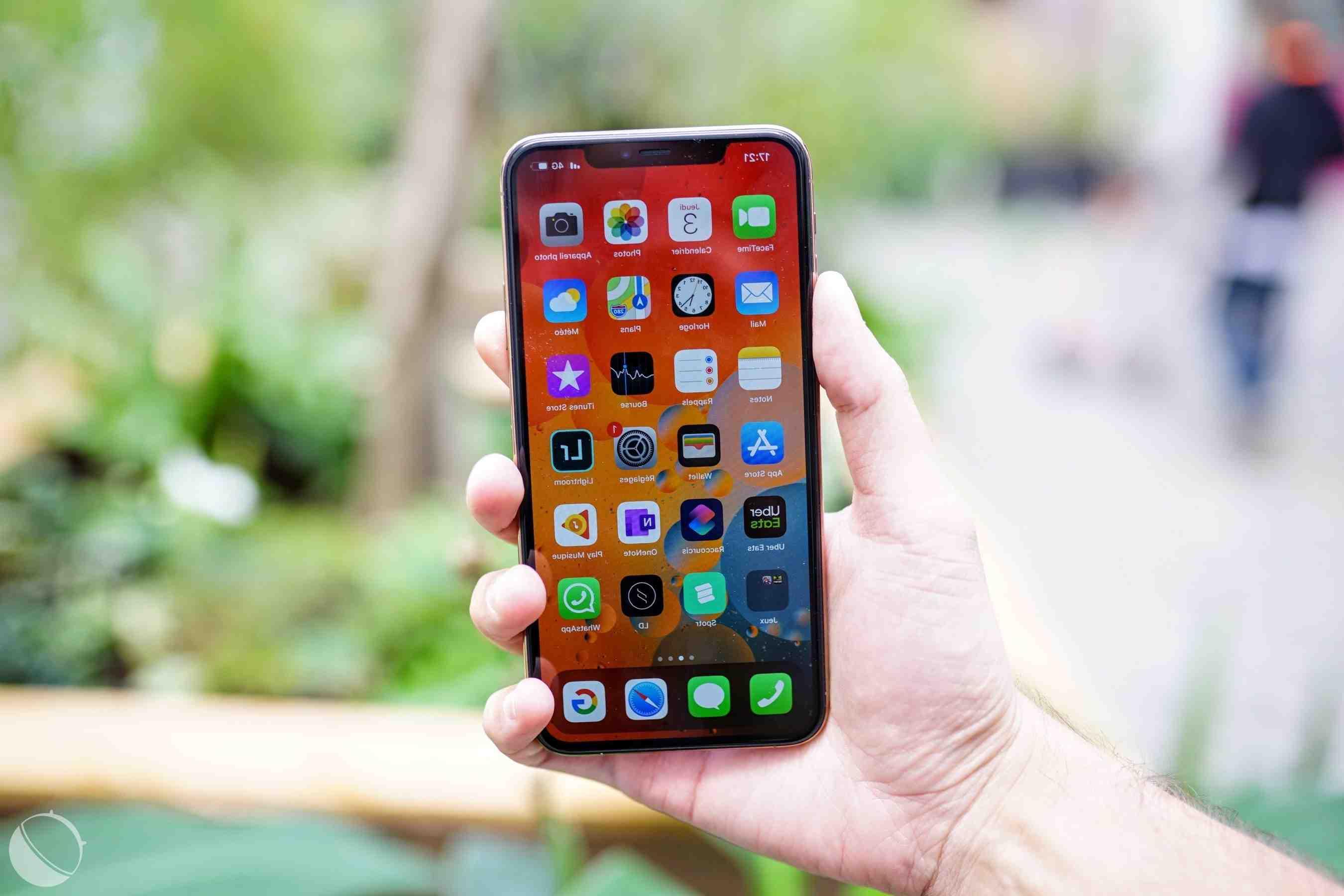 Pourquoi l'iphone 11 pro max chauffe-t-il ?