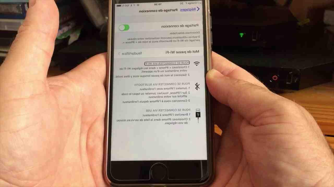 Pourquoi l'iphone 5 ne peut pas se connecter au wifi