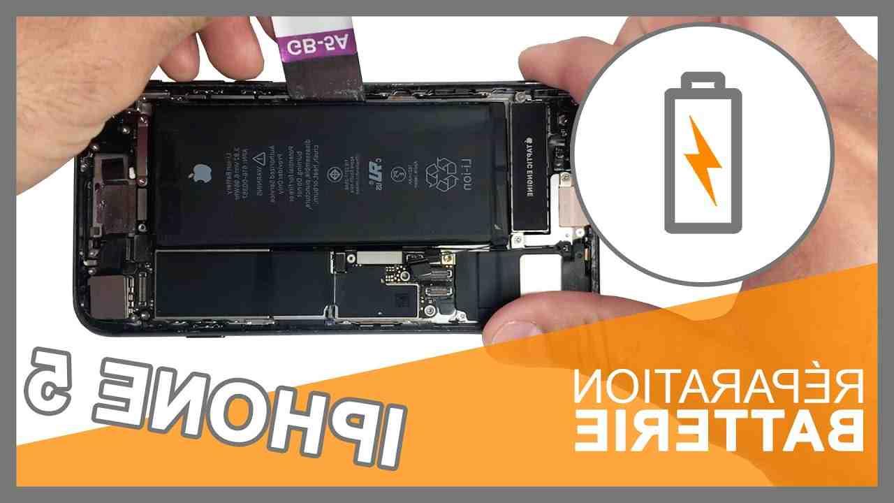Prix de la batterie de l'Iphone 5