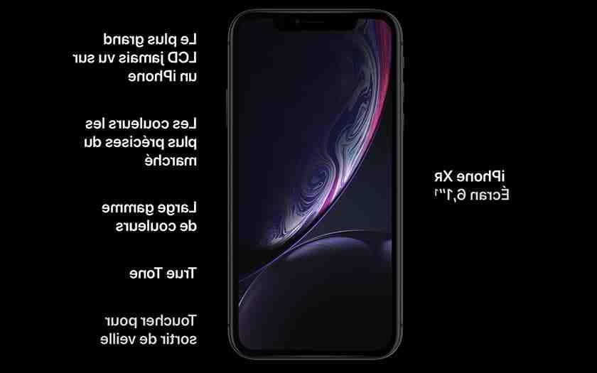 Qualité de l'Iphone xr