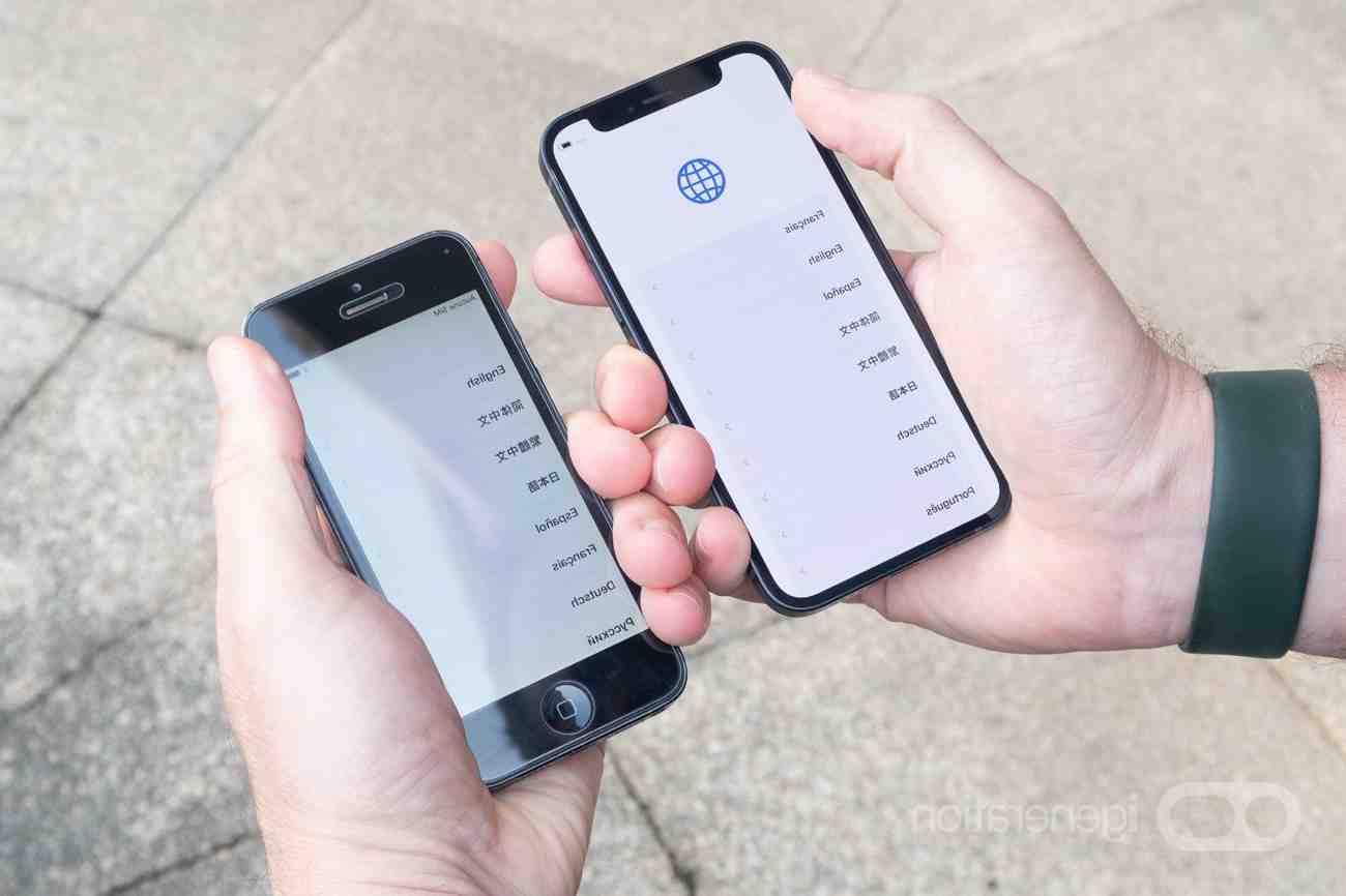 Quelle est la taille mini de l'iphone 12