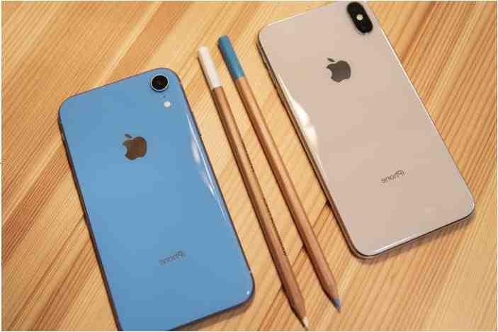 Qu'est-ce que l'iphone xr et xs ?