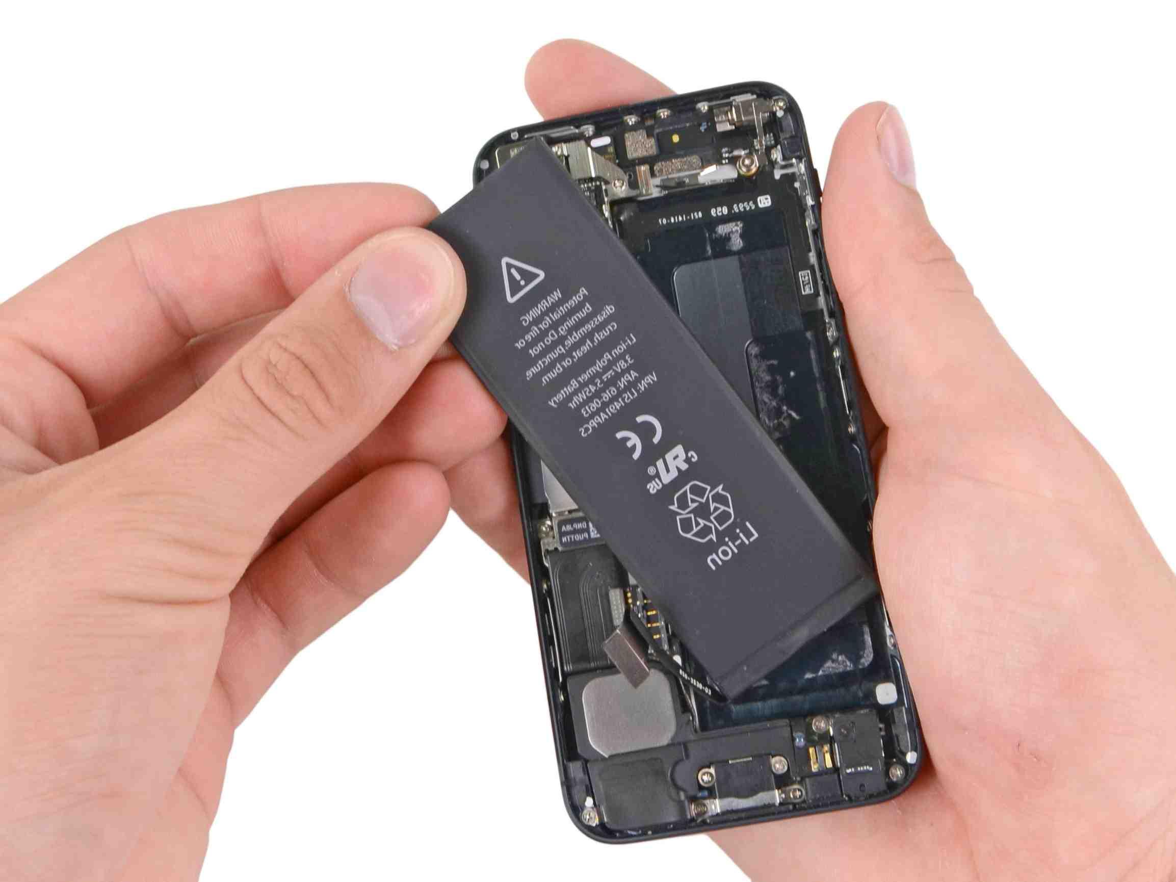 Remplacement de la batterie de l'Iphone 5