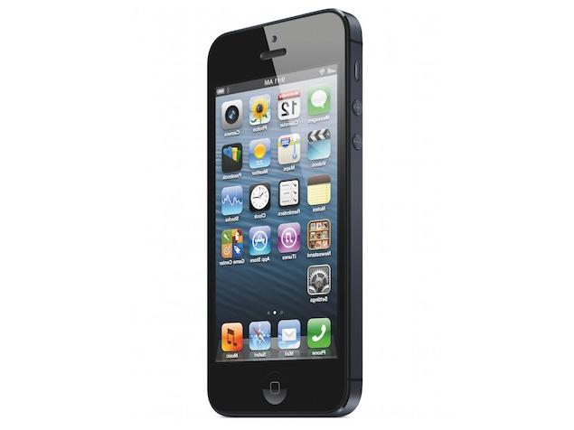 Résolution de l'Iphone 5