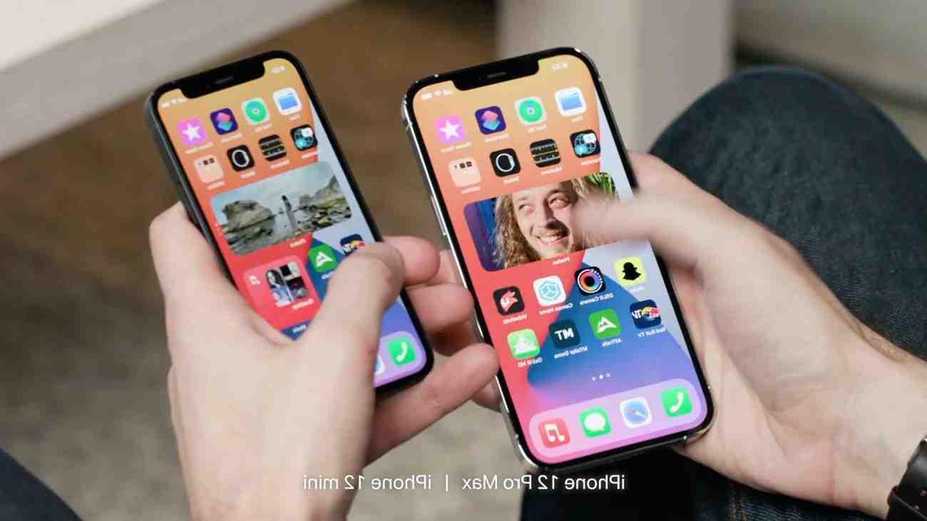 Taille de l'écran de l'iPhone 12 mini