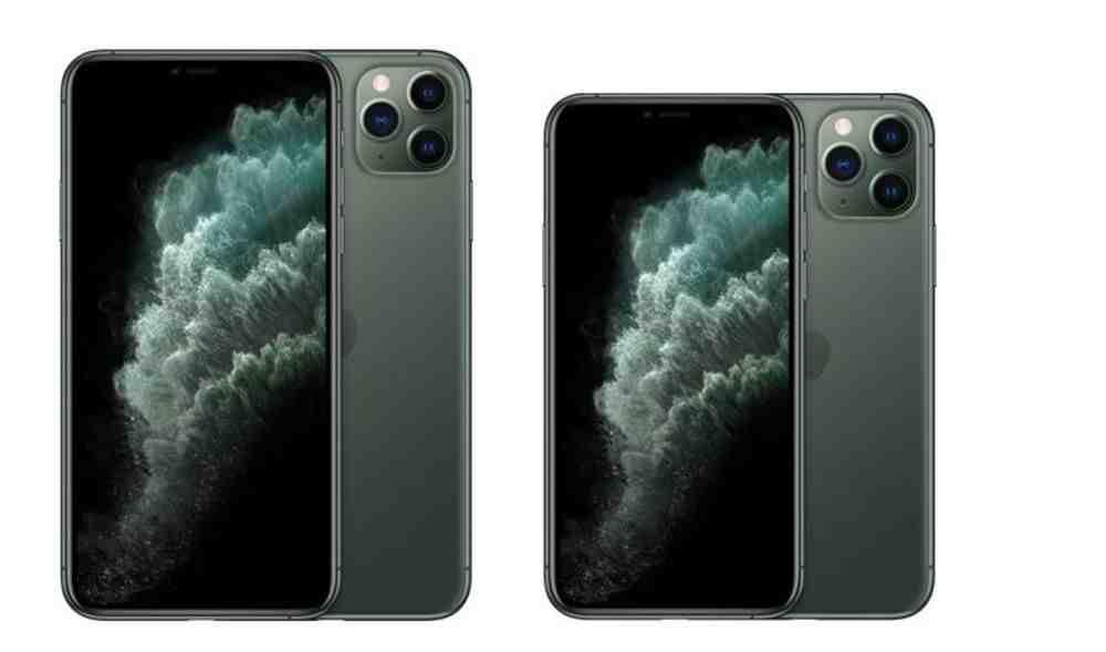 Taille maximale de l'Iphone 11 pro
