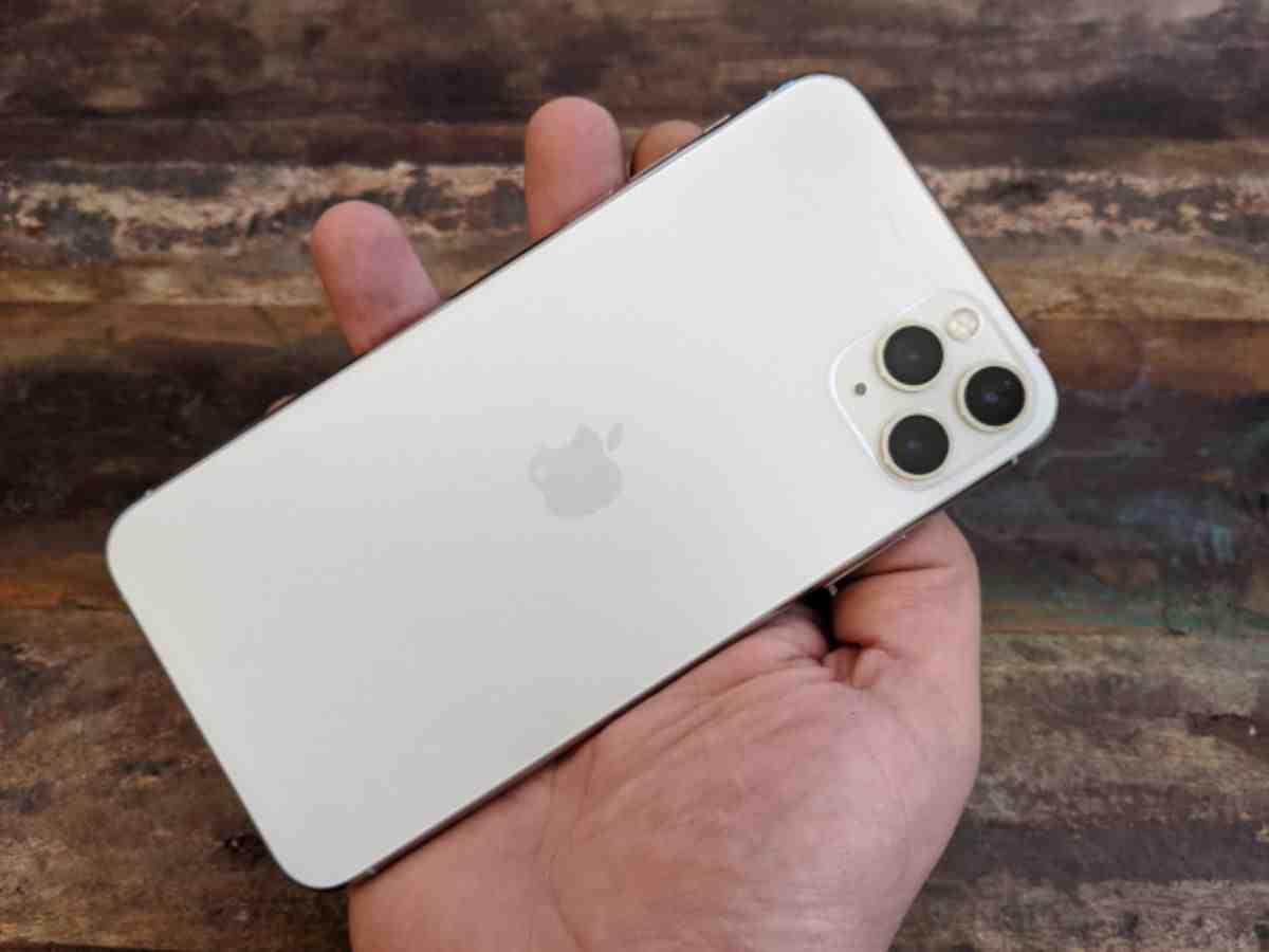 Taille maximale de l'écran de l'Iphone 11 pro