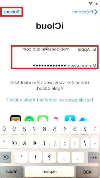 Transfert de l'Iphone 5 à l'Iphone se 2020